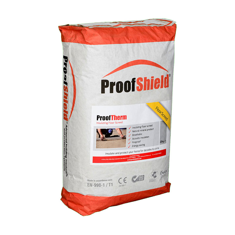 ProofTherm - Insulating Floor Screed Bag